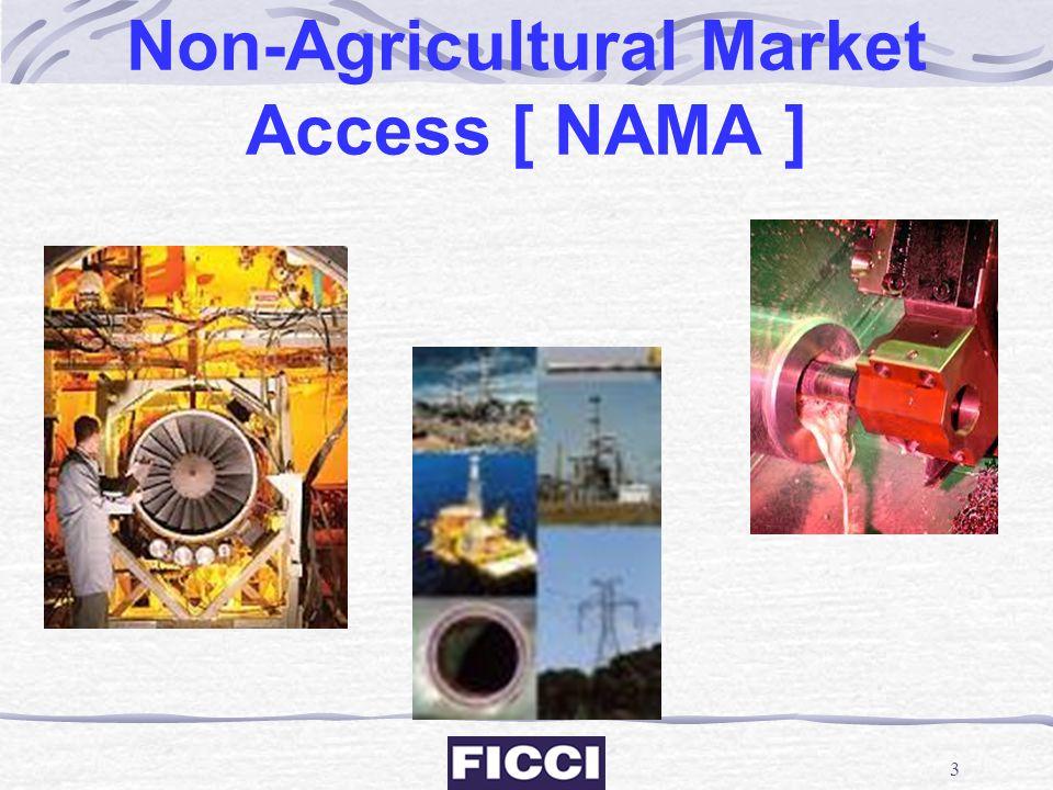 Non-Agricultural Market Access [ NAMA ]